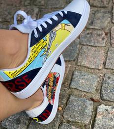 Custom sneakers - He-Man