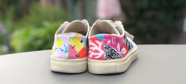 Custom sneakers When life gives you lemons hälparti