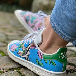 Custom sneakers - Chinoiserie profil vä