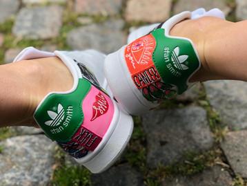 Custom sneaker Fuck cancer hälparti