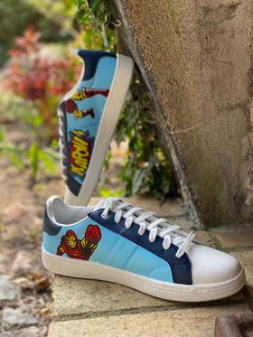 Custom sneaker - Marvel iron man