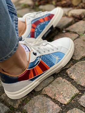 Custom sneakers - Dr Who profil