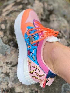 Custom sneakers - Stay rad höger insida