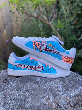 Custom sneakers - Smash flickornas namn
