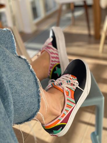 Custom sneakers Super duper profil pall