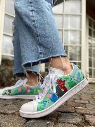 Custom sneaker - En udda fågel tupp