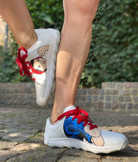 Custom sneakers - we can do it dymo fika