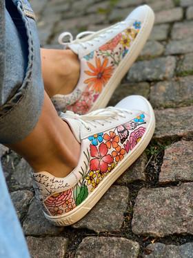 Custom sneakers - Sommaräng profil hö