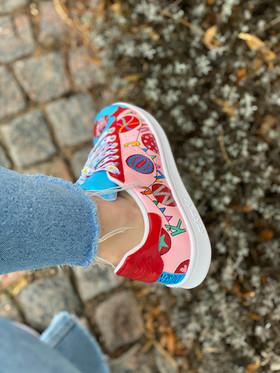 Custom sneaker Join the circus - kul ju!