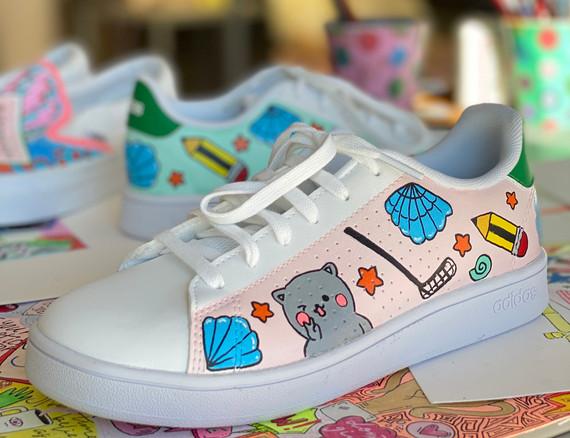 Custom sneaker - Kawaii rosa