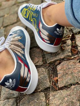 Custom sneakers - Harkey profil insidor