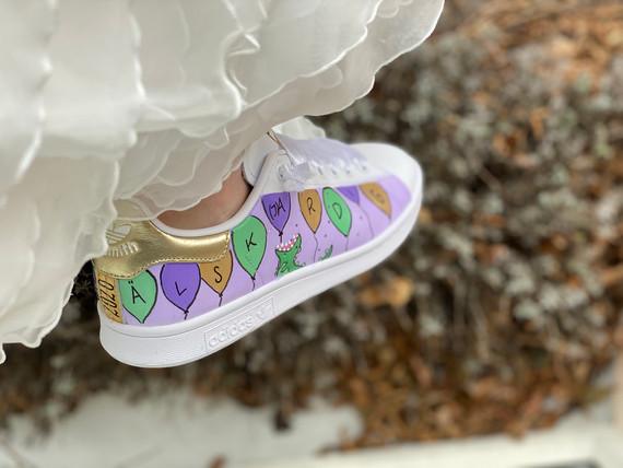 Custom sneaker - Will you marry me Älskar dig