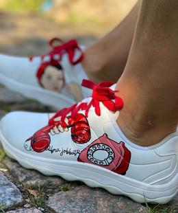 Custom sneakers - we can do it telefone