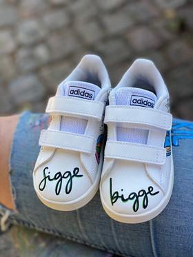 Custom sneakers - Tvillingarna Sigge bigge