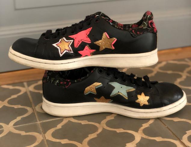 Custom sneakers Starstruck profil