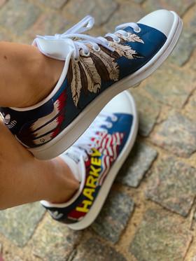 Custom sneakers - Harkey in o ut 2