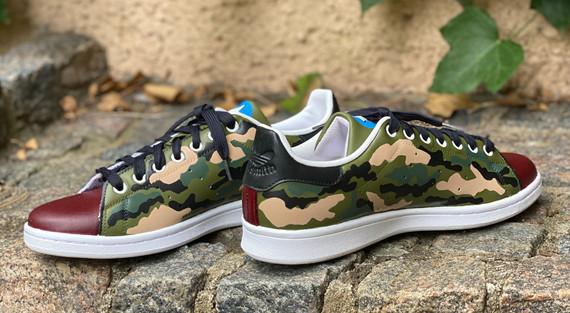 Custom sneakers - Warhawk camo