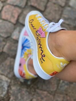 Custom sneakers -Awesomeness awesomeness