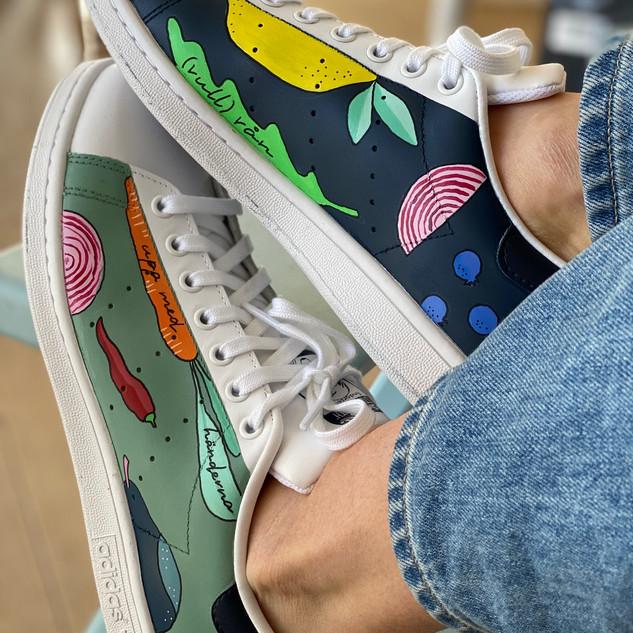 Custom sneakers - KalfHansen