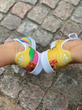 Custom sneakers - Awesomeness hälar