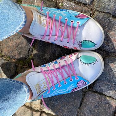 Custom sneakers - Teachers pet tår