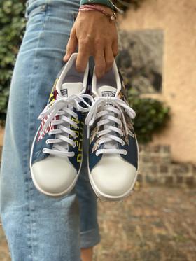 Custom sneakers - Harkey framifrån