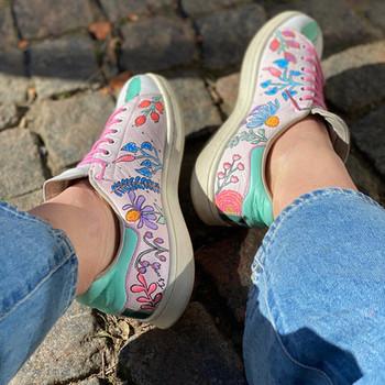Custom sneakers - Teachers pet rosa insidor