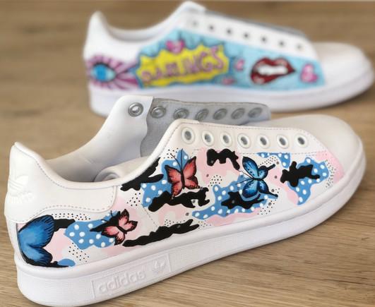 Custom sneakers - Fierce femme darlings