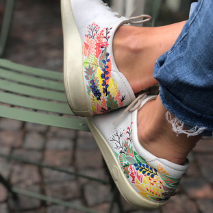 Custom sneakers When Harry met Sally