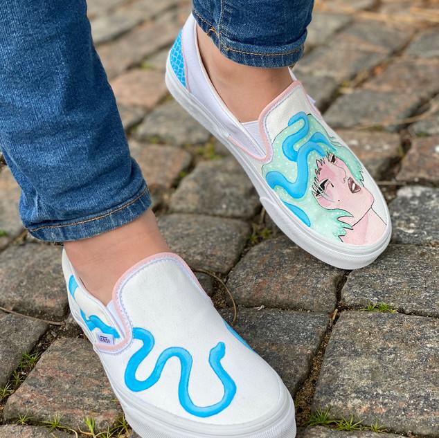 Custom sneakers - Vera Primavera