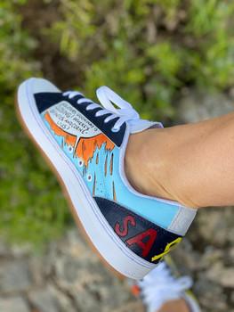Custom sneakers - He-Man höger
