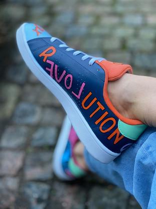 Custom sneakers - Love all Revolution
