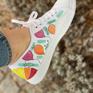 Custom sneakers - Hanna ballonger