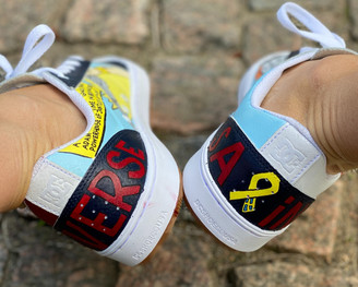 Custom sneakers - He-Man hälparti