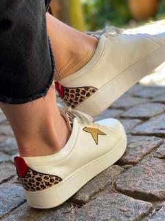 Custom sneakers - Leopard dream profil