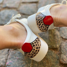 Custom sneakers - Leopard dream hälar