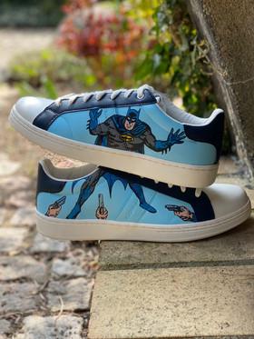 Custom sneaker - Marvel batman