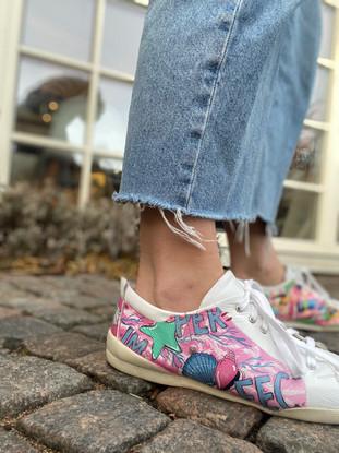 Custom sneaker Perfectly imperfect profil rosa