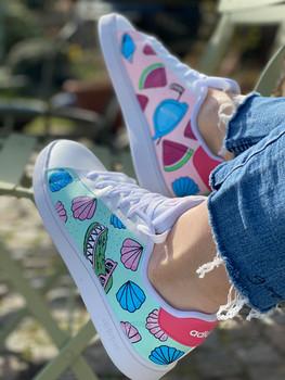 Custom sneakers - Elsas skor profil krokodil