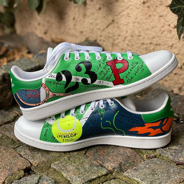Custom sneakers - Stan(d) strong stacked ball