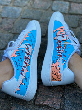 Custom sneakers - Smash insidor