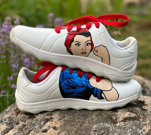 Custom sneakers - we can do it