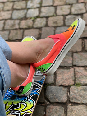 Custom sneakers - Sk8 4 life profil