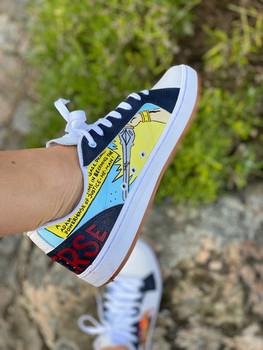 Custom sneakers - He-Man vänster