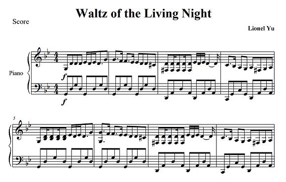 Waltz of the Living Night