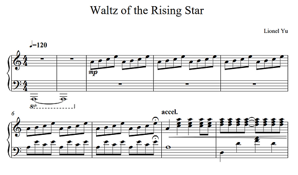 Waltz of the Rising Star