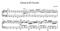 5 Levels of Canon in D
