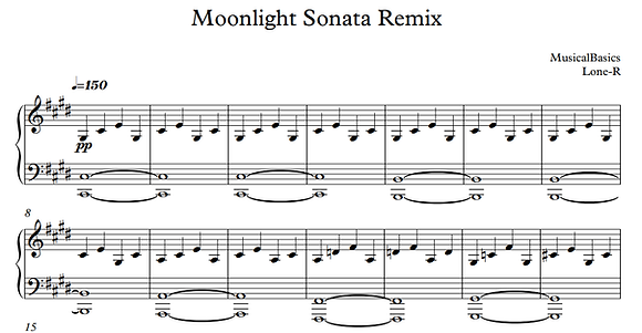 Moonlight Sonata Nightmare