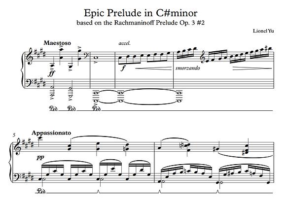 Epic Prelude in C Sharp Minor