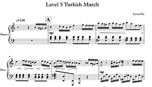 5th Level of Turkish March